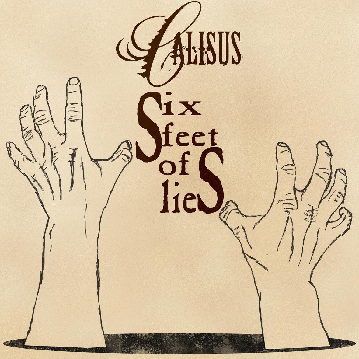 Six Feet of Lies Single Artwork
