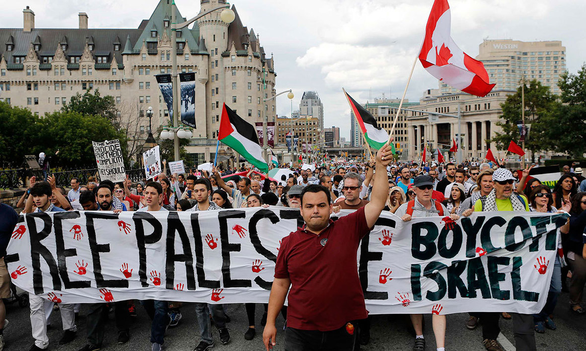 Ottawa rally 2014 gaza photo