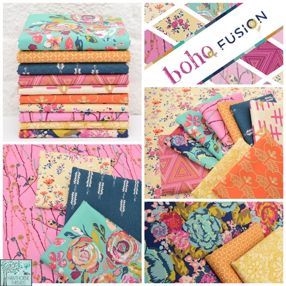 Boho Fusion Fabric Poster