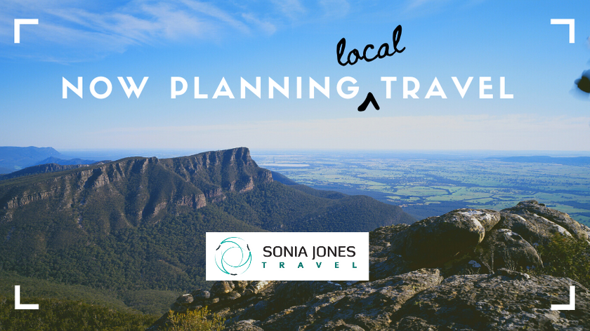 Now planning local travel