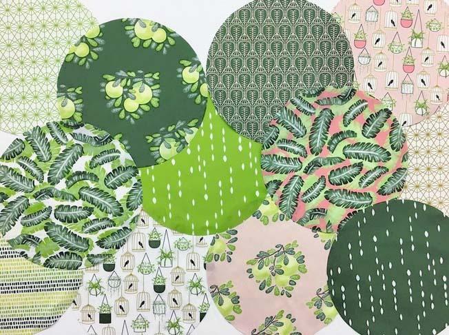 Botany Fabric Bins