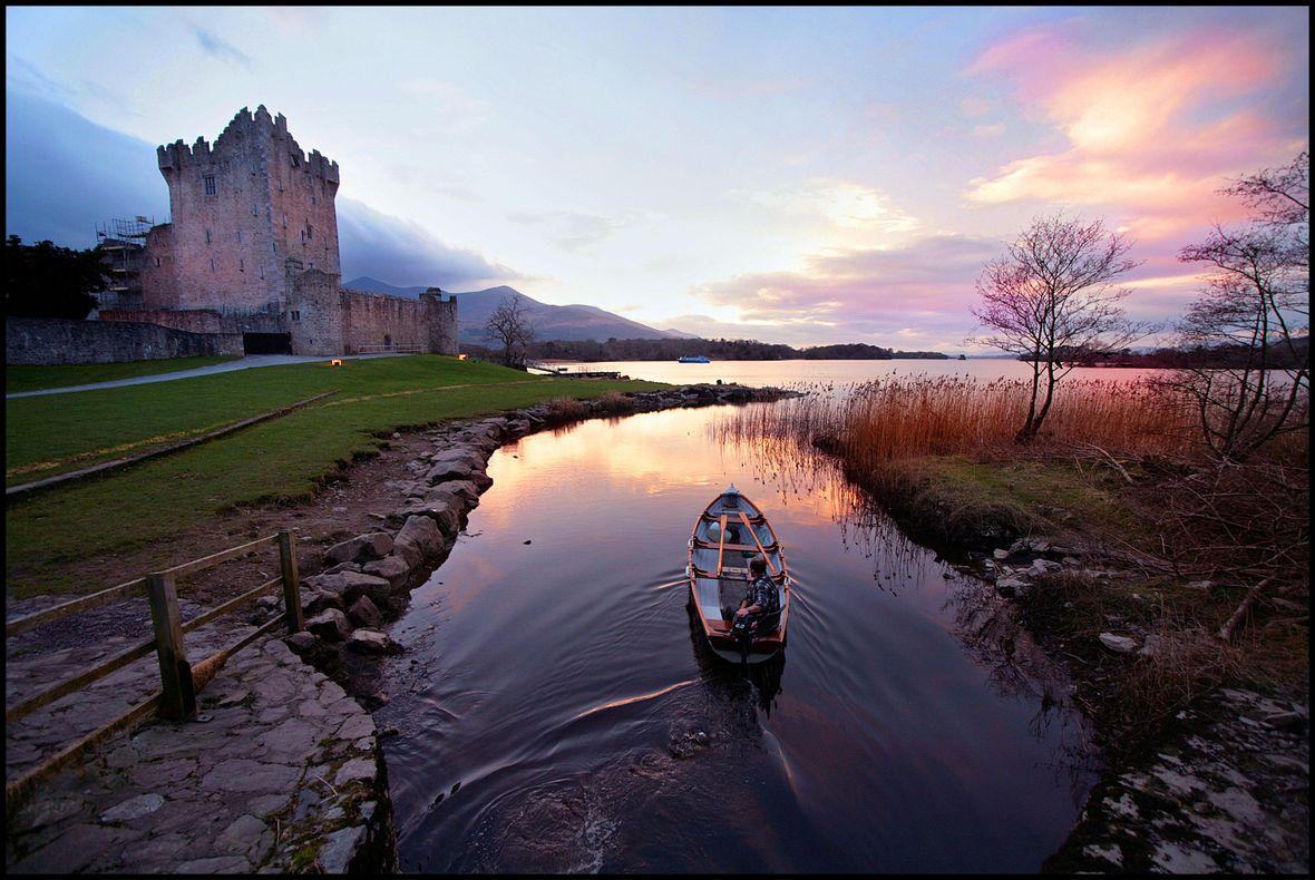 ross castle boat tour