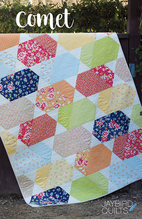 jaybird quilts  comet sewing pattern