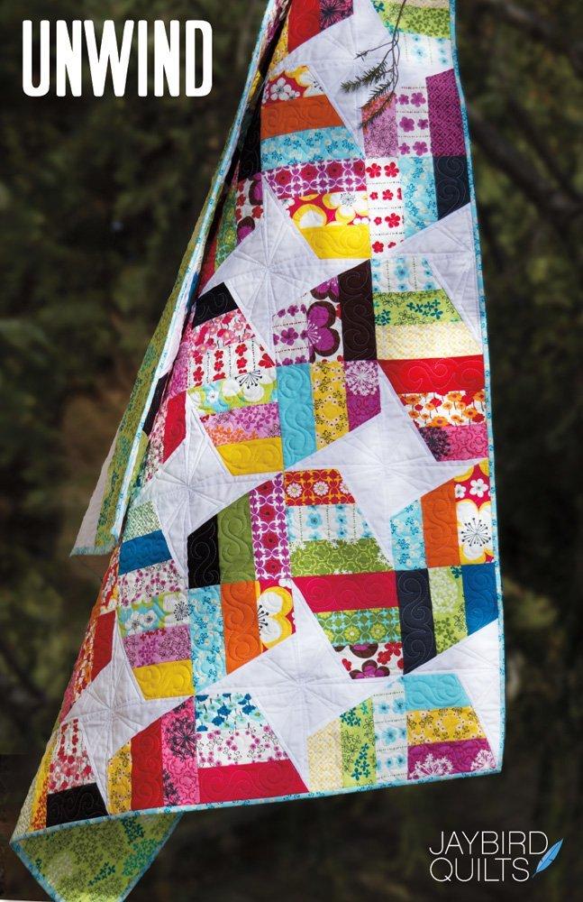 jaybird quilts  unwind sewing pattern