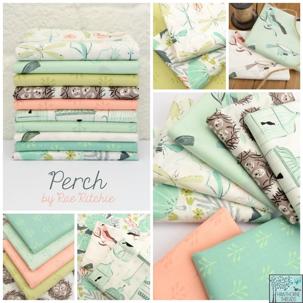 Rae Ritchie Perch Fabric