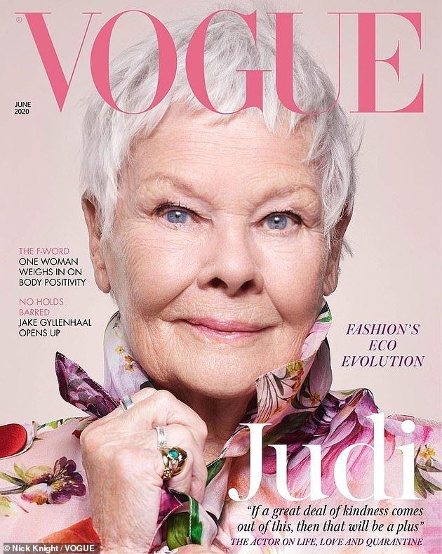 Vogue cover Judi Densch at 85