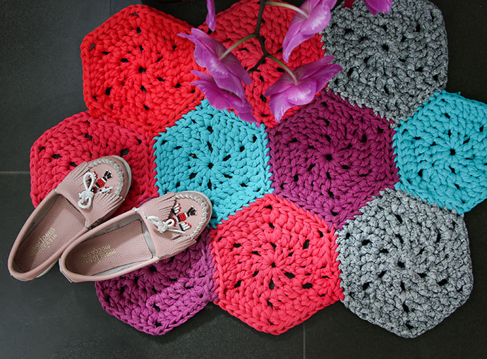 Crochet Rug Pattern Melbourne Star Giveaway Contributor Call Out