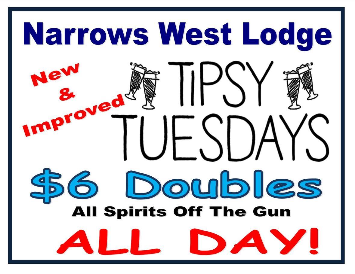 Tipsy Tuesday ad