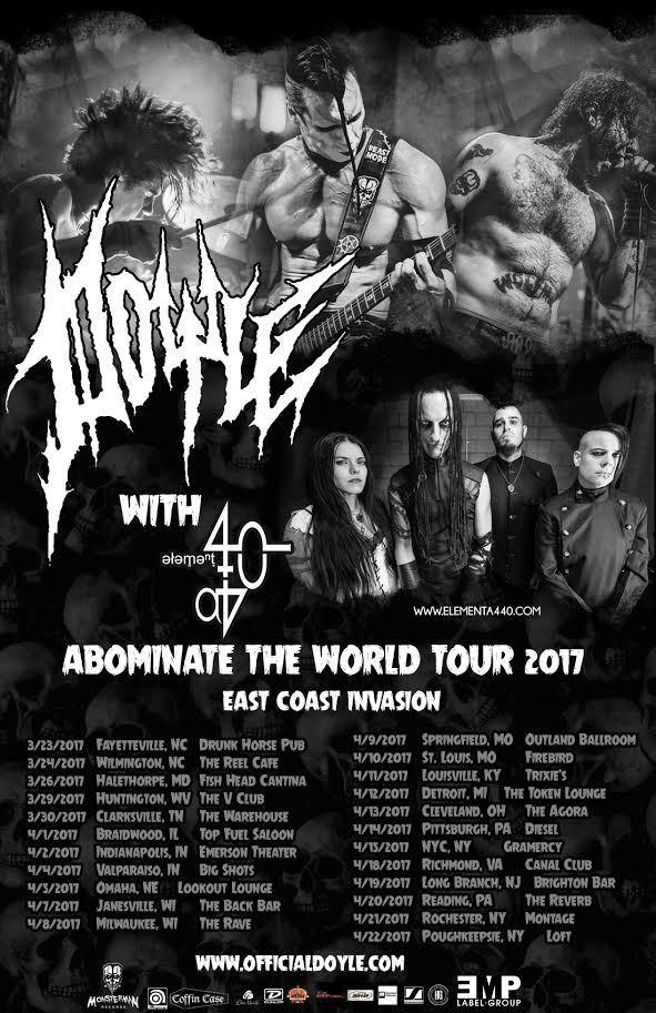 Doyle US Tour