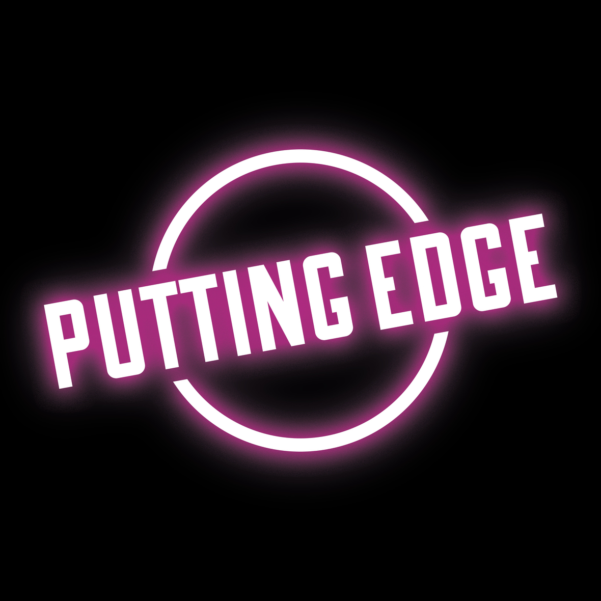 puttingedge logo pink glow  1