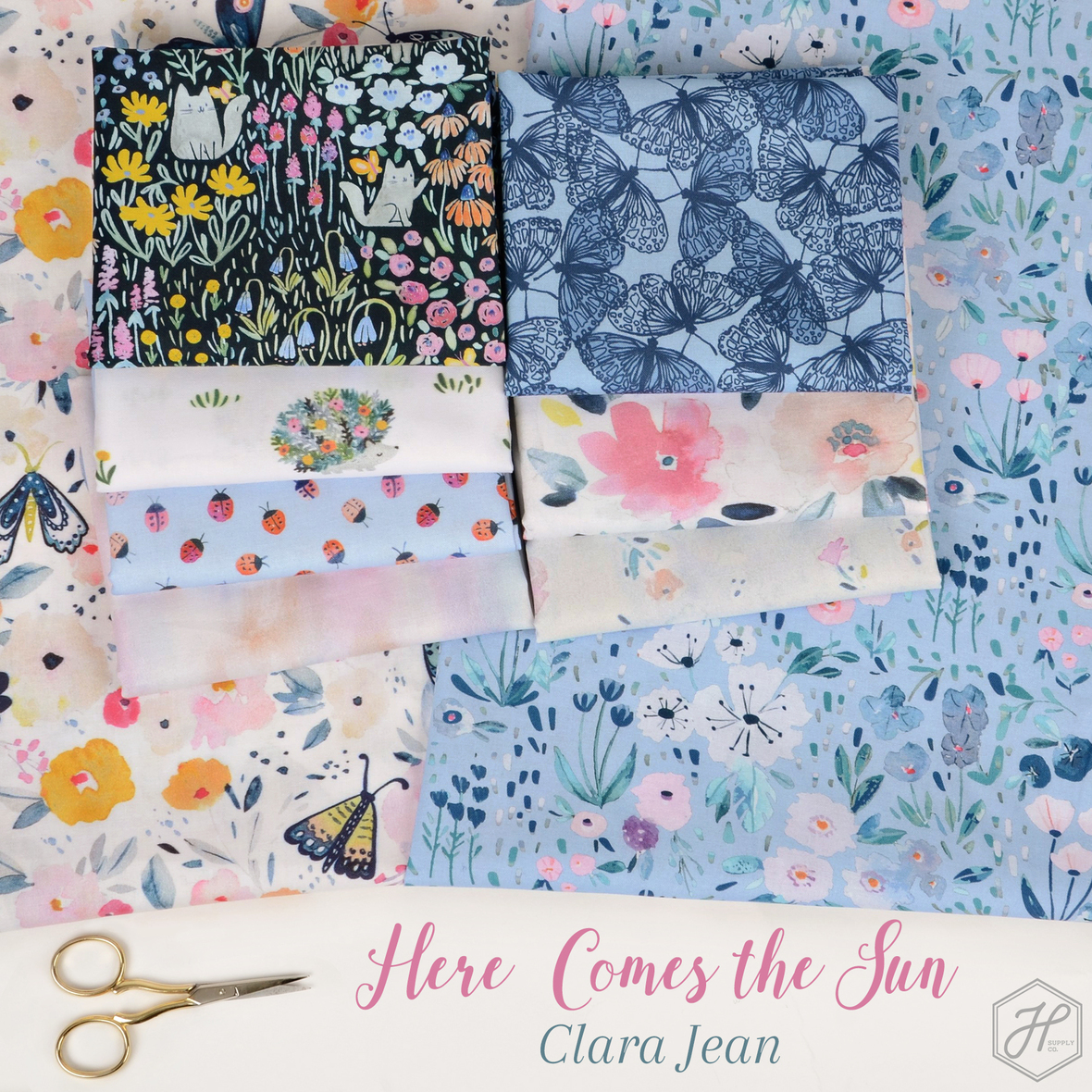 Here-Comes-the-Sun-Fabric-Poster-Clara-Jean-at-Hawthorne-Supply-Co