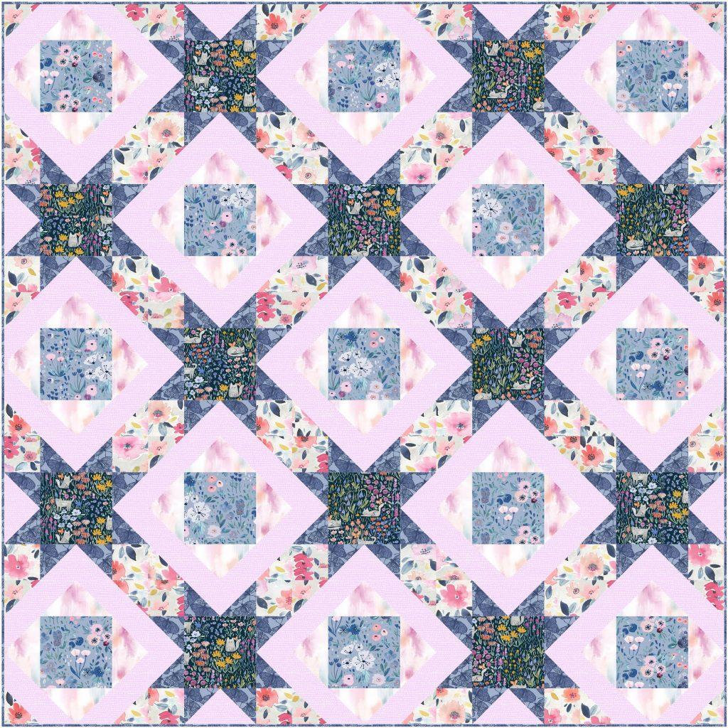 Stars Afloat Pattern