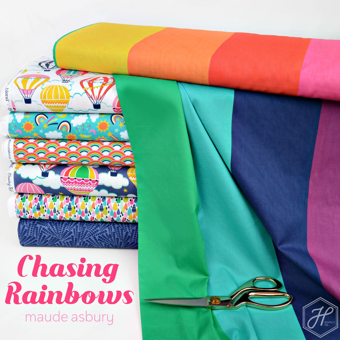 Chasing-Rainbows-Fabric-Maude-Asbury-for-Blend
