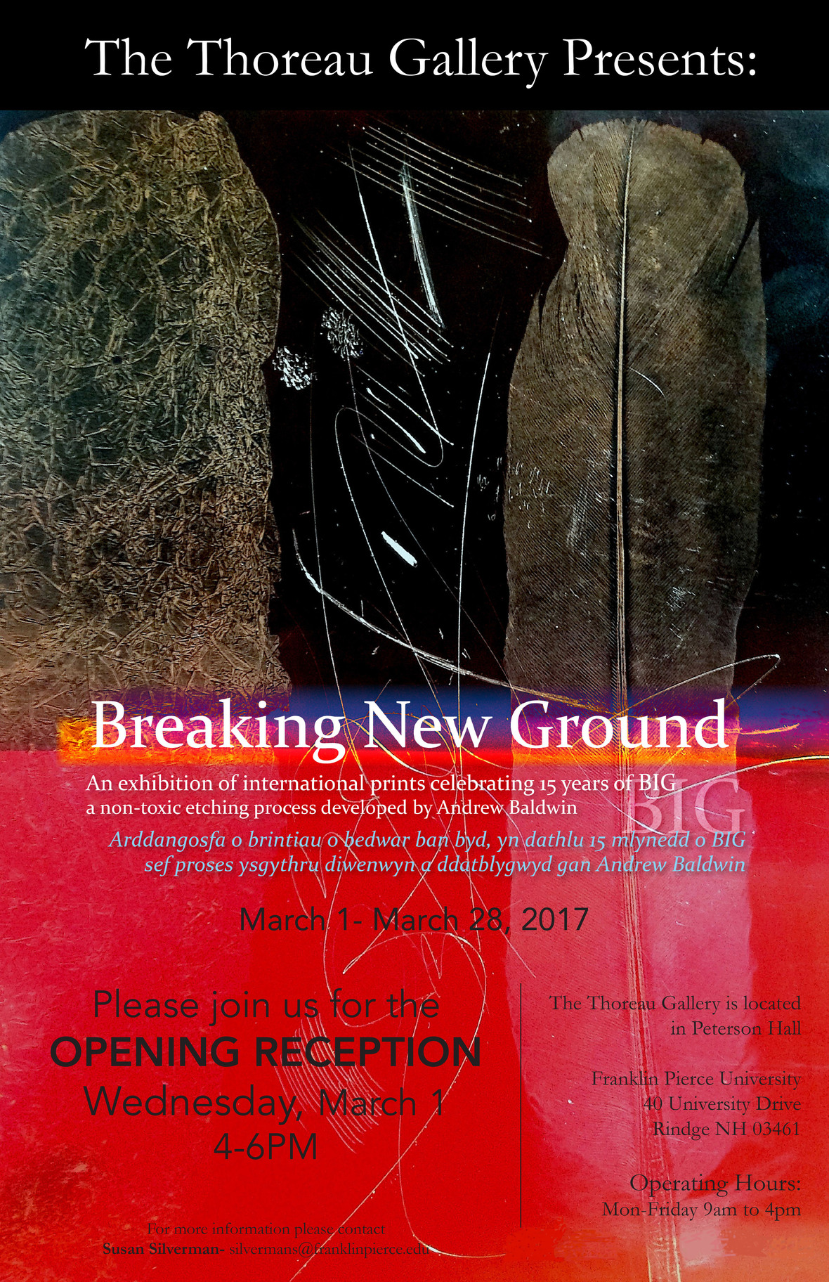 Breaking New Ground Poster Black copy