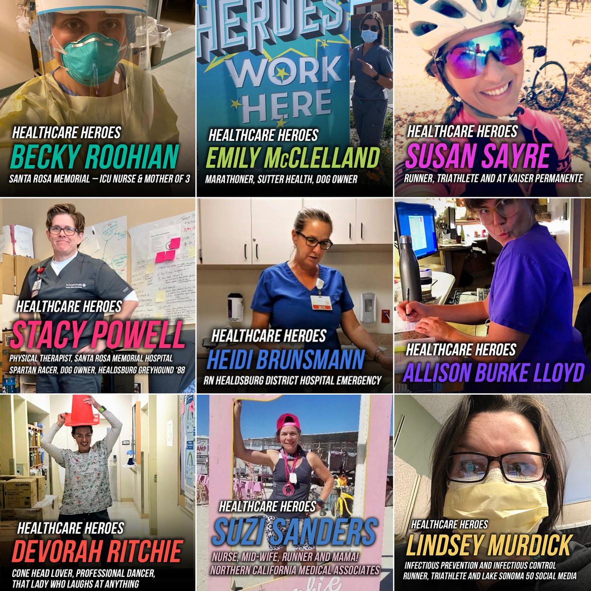 healthcare heros ladies