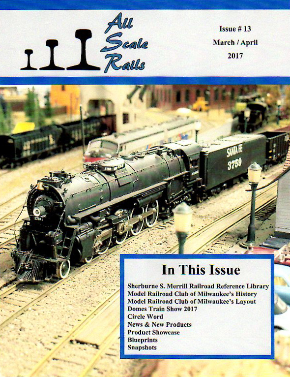All Scale Rails Cover Issue 13 March April 2017 72DPI