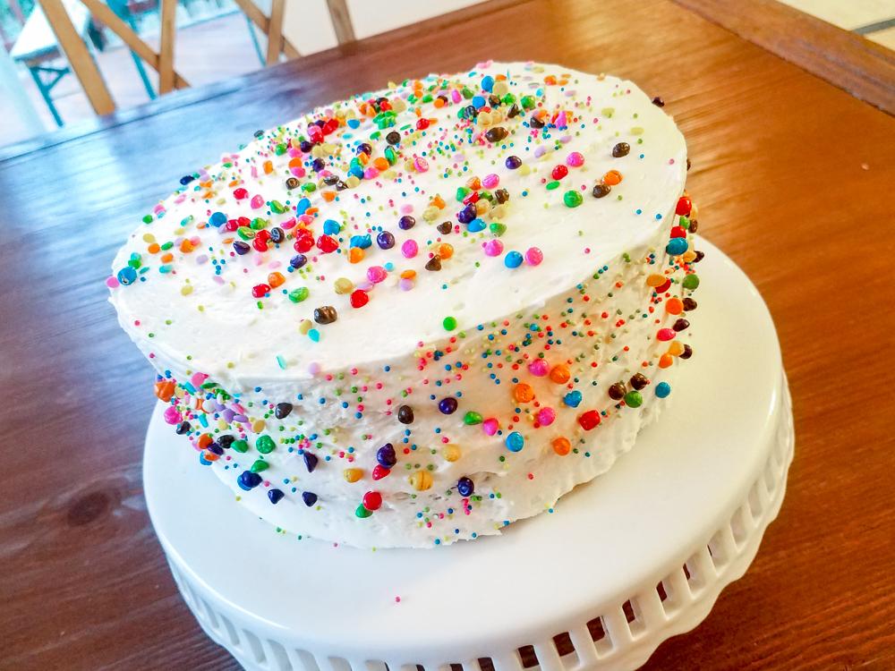 My Favorite Birthday Cake