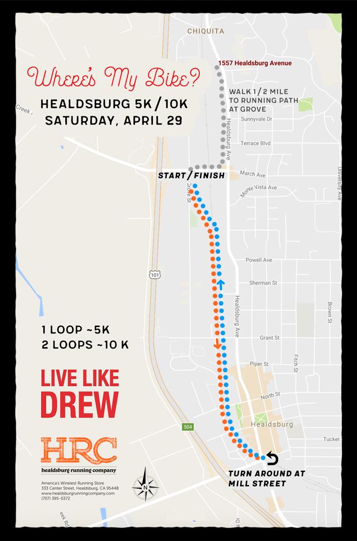 wheres my bike map