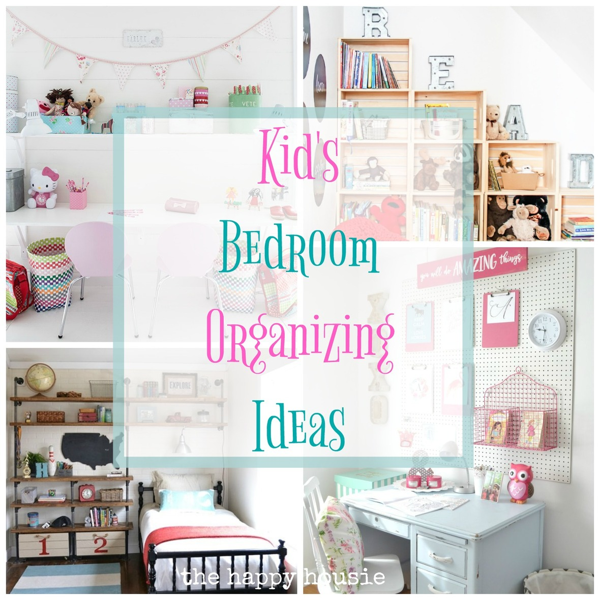 Kid s Bedroom Organizing Ideas