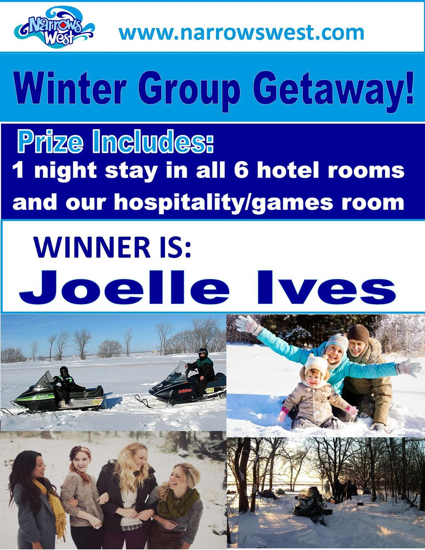 winter group getaway WINNER