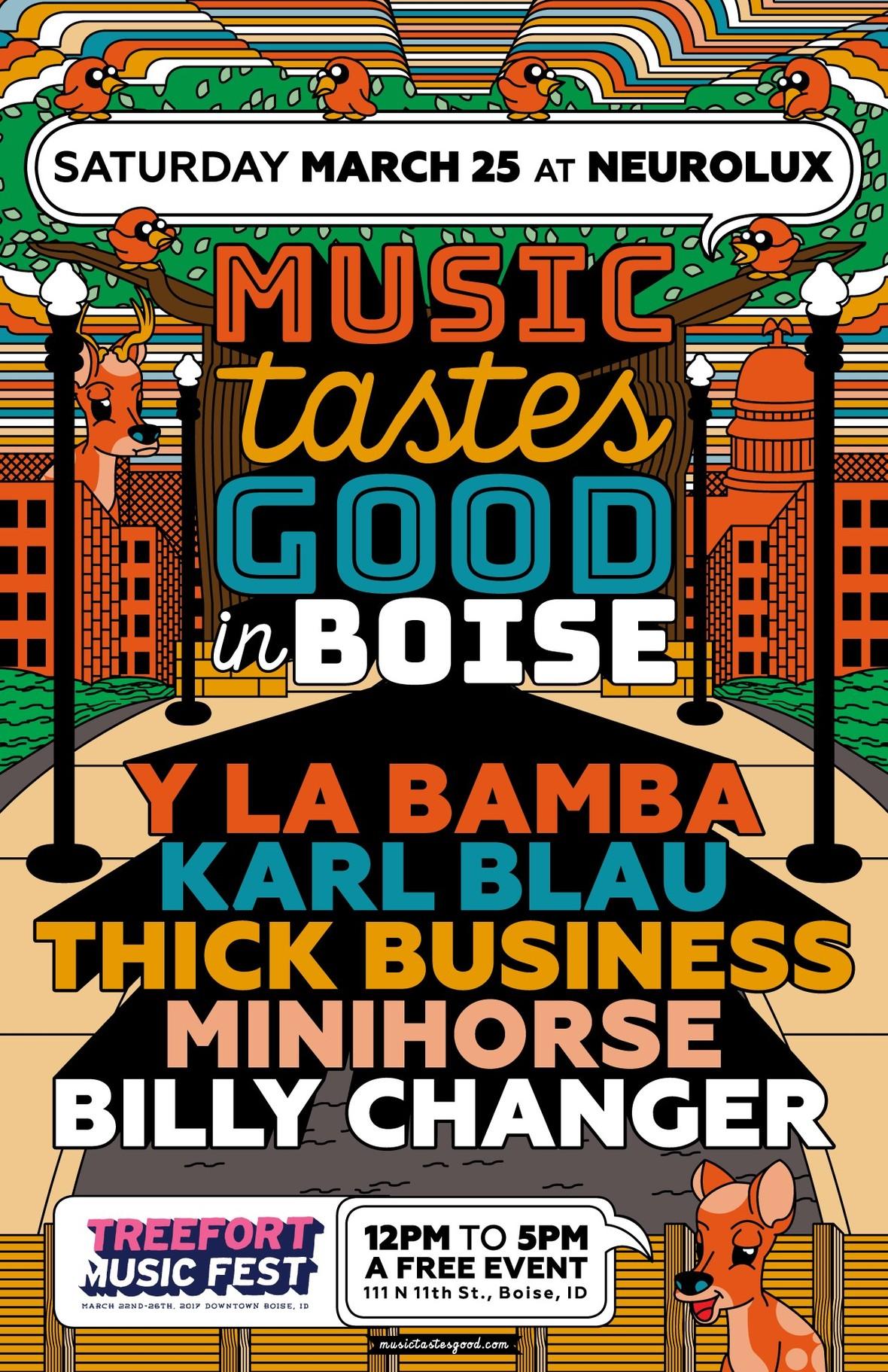 music tastes good in boise