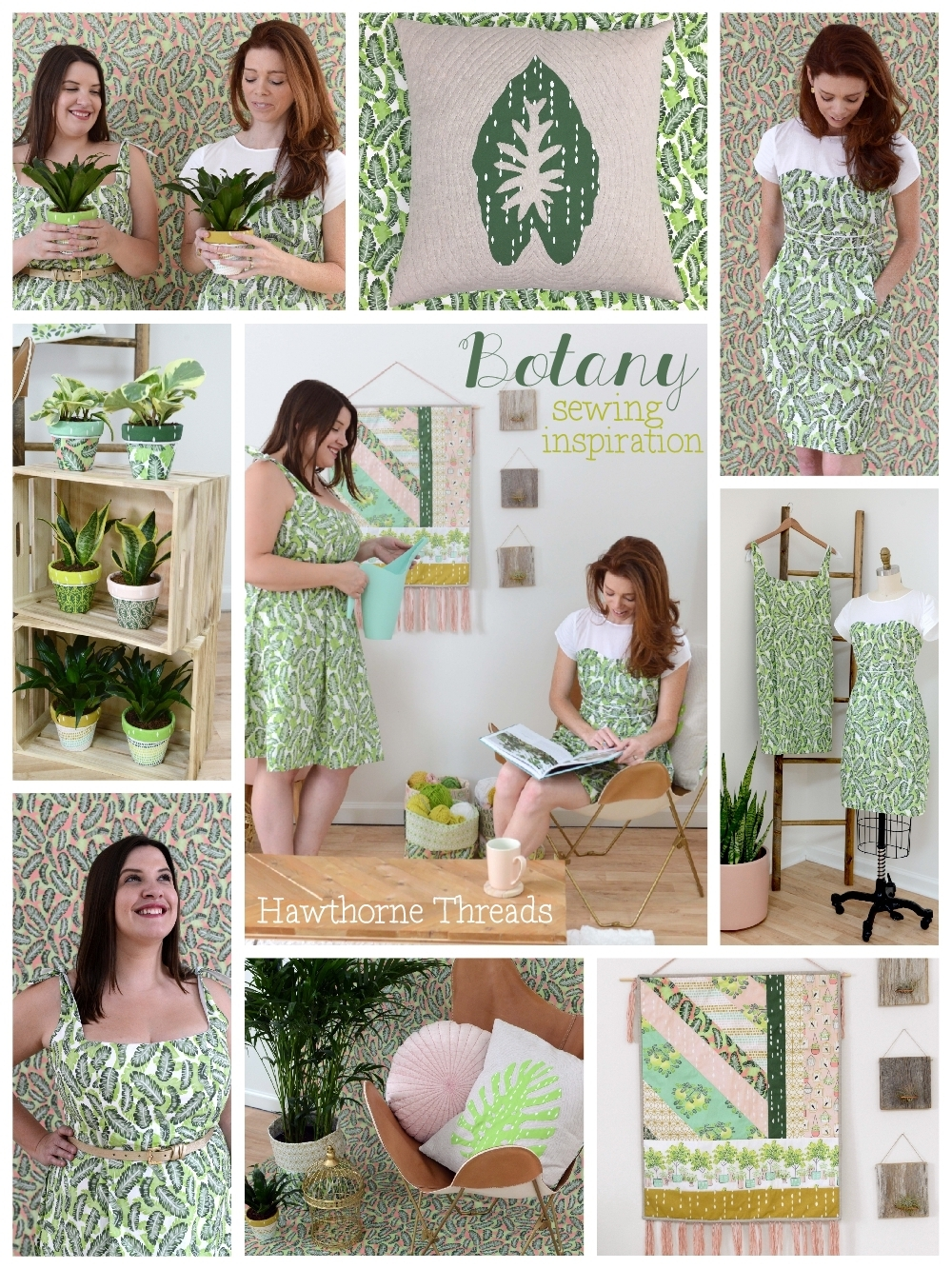 Botany Fabric Sewing Inspiration 1000