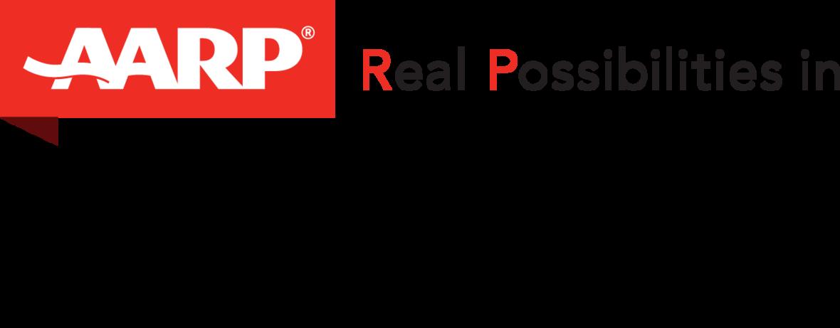 AARP in Maine standard logo