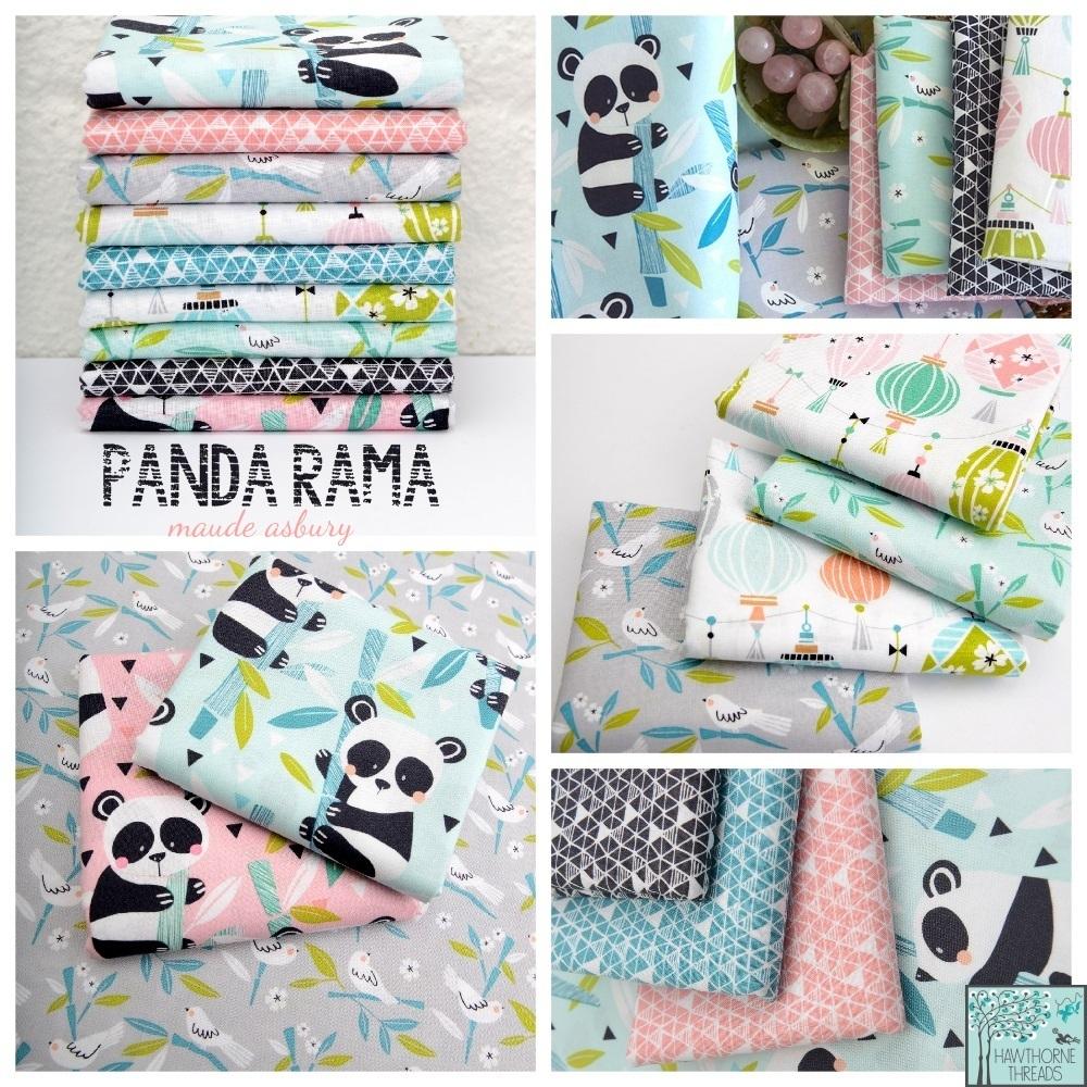 Panda Rama Fabric Poster