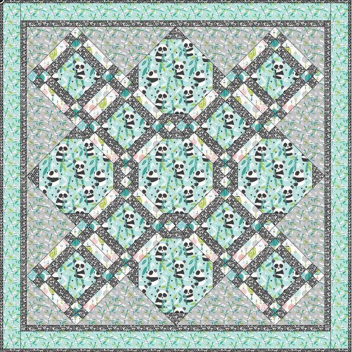 blend fabrics- website- free quilt pattern