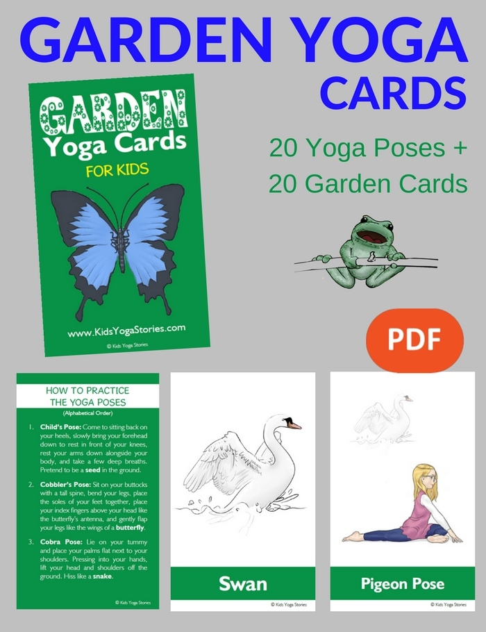 New Garden Yoga Cards Other Garden Yoga Ideas