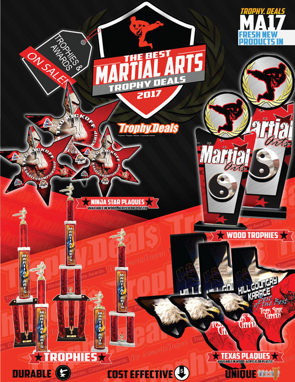 unbelievably cool martial arts trophies