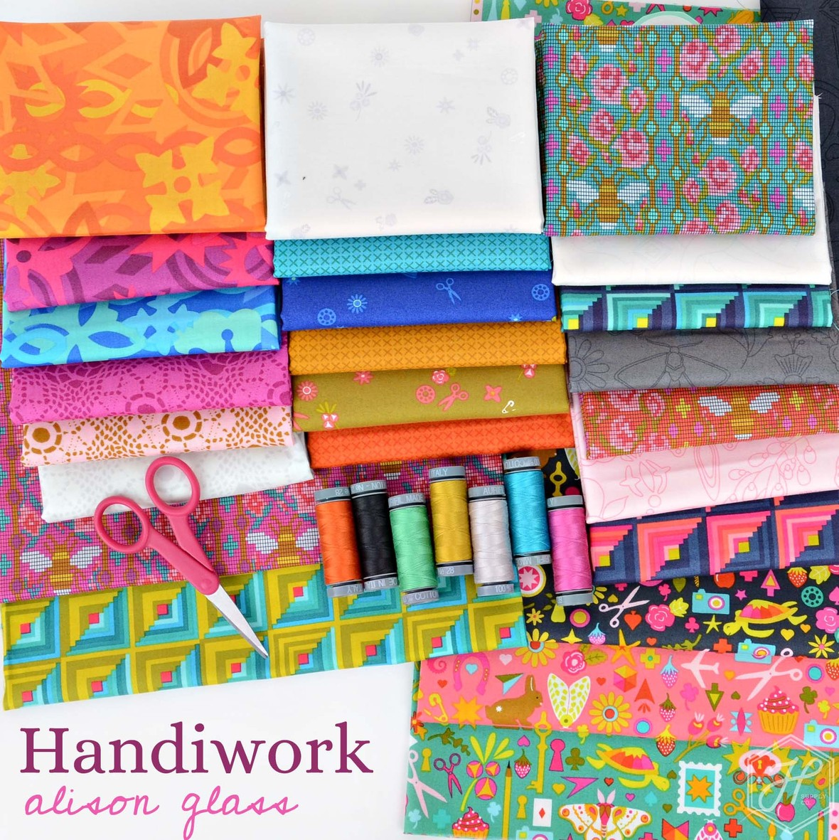 Handiwork Fabric Poster Alison Glass at Hawthorne Supply Co