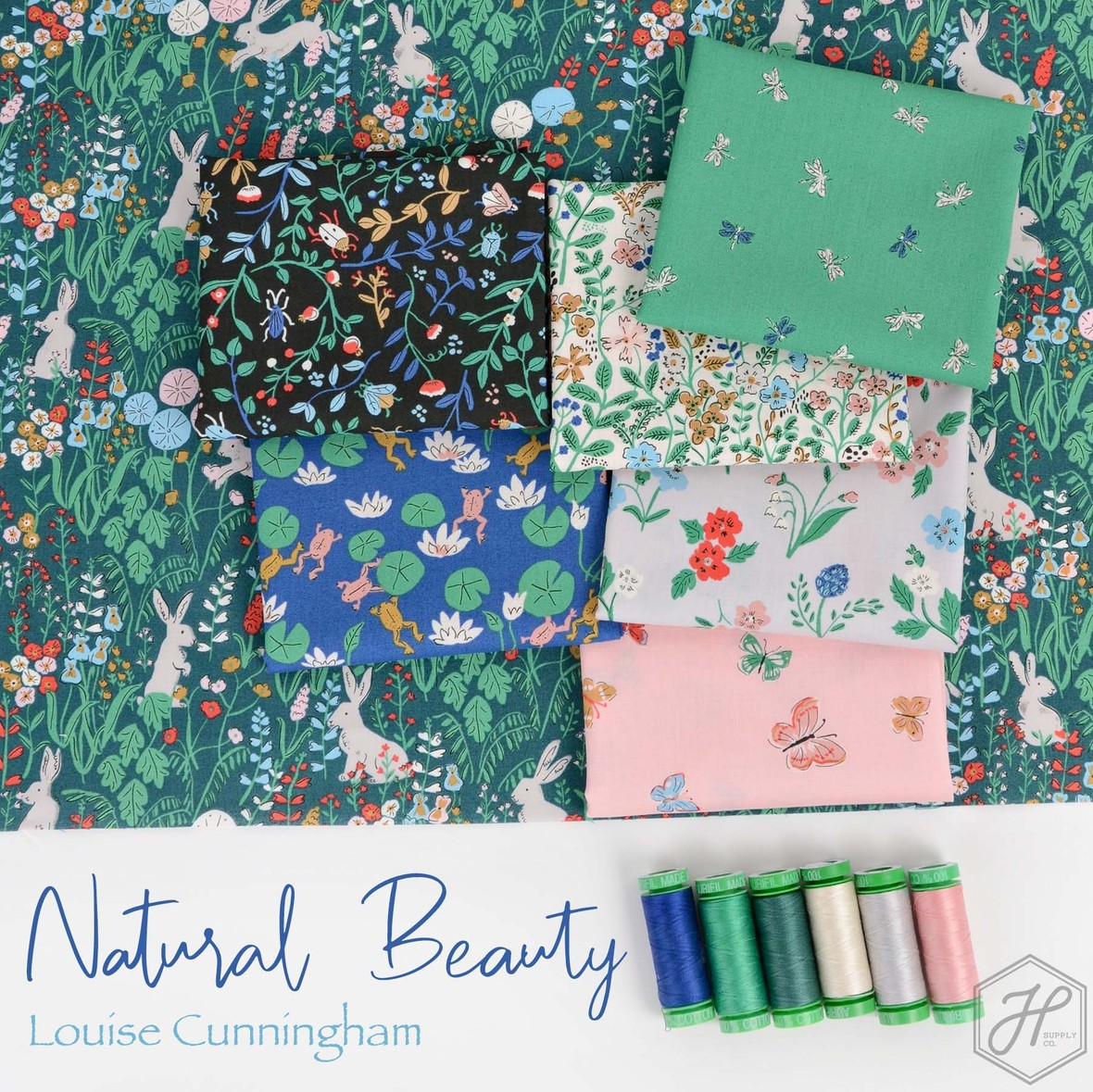 Natural Beauty Fabric Louise Cunningham from Cloud 9 at Hawthorne Supply Co