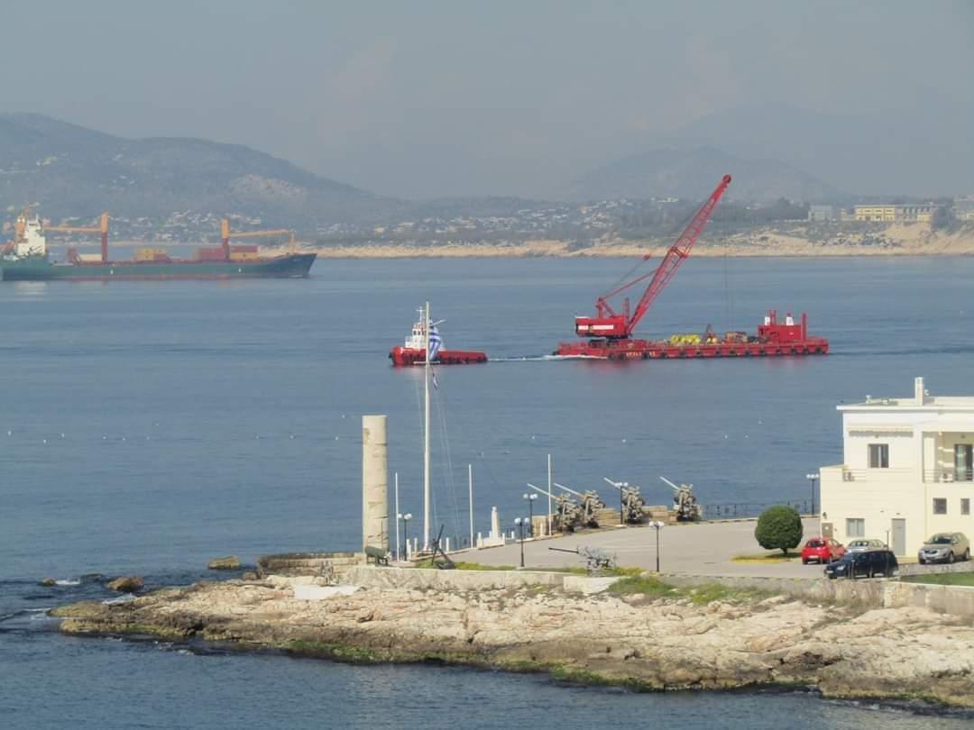 """""""Όχι στην Απόρριψη των Βυθοκορημάτων Τοξικού Ιζήματος στη Θάλασσα"""" Γνωμοδότησε το Περιφερειακό Συμβούλιο Αττικής"""