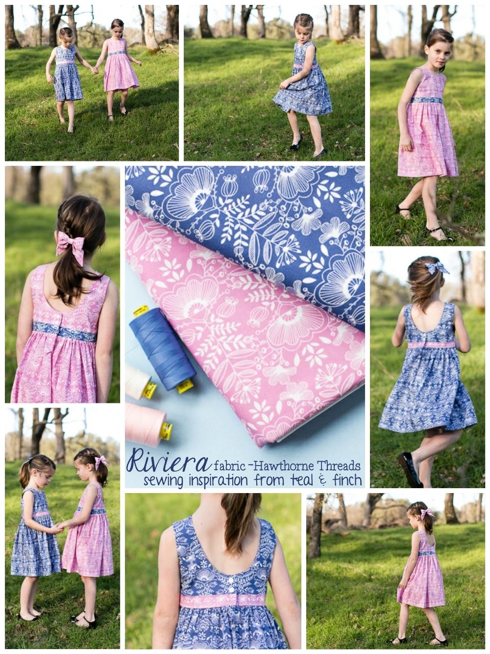 Riviera Fabric Sophie Dress