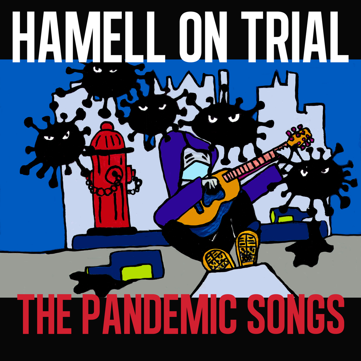 SEX2003 Hamell On Trial The Pandemic Songs Front Cover