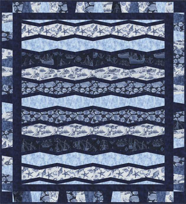 timeless treasures- free quilt pattern