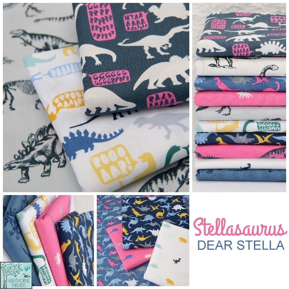 Stellasaurus Fabric Poster