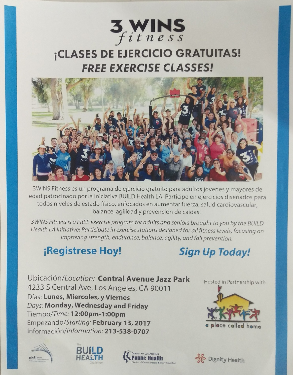 Free Exercise Class