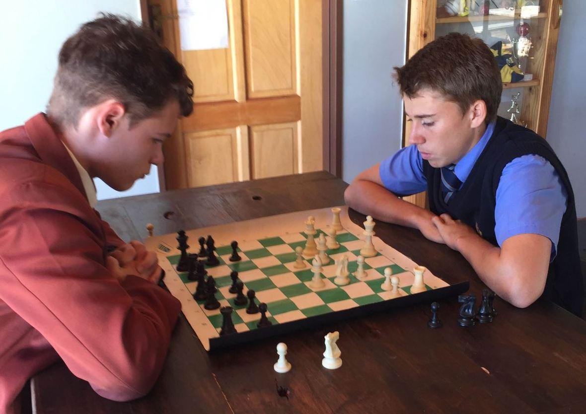 Chess vs Tom Naude  1