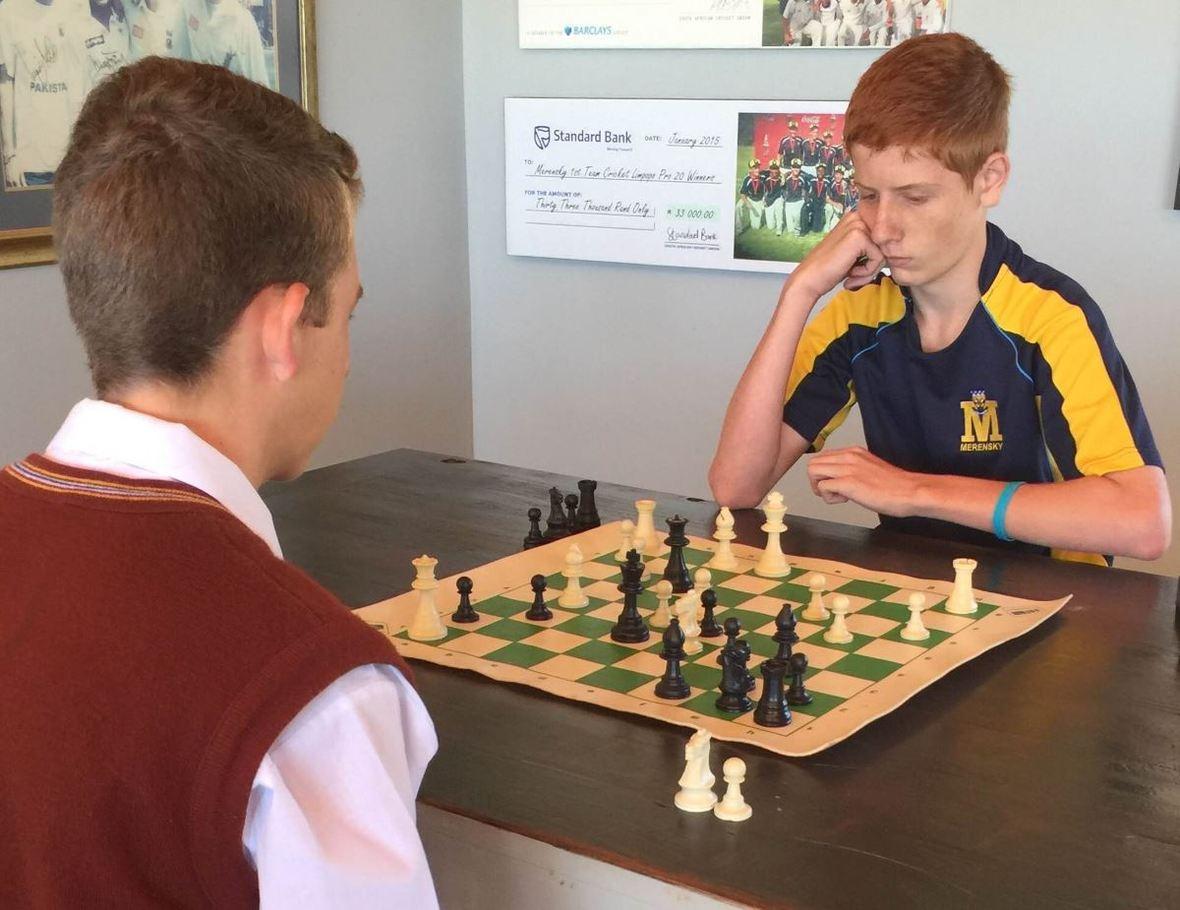 Chess vs Tom Naude  2