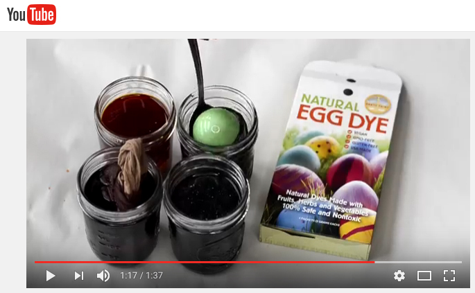 youtube egg dyeing video