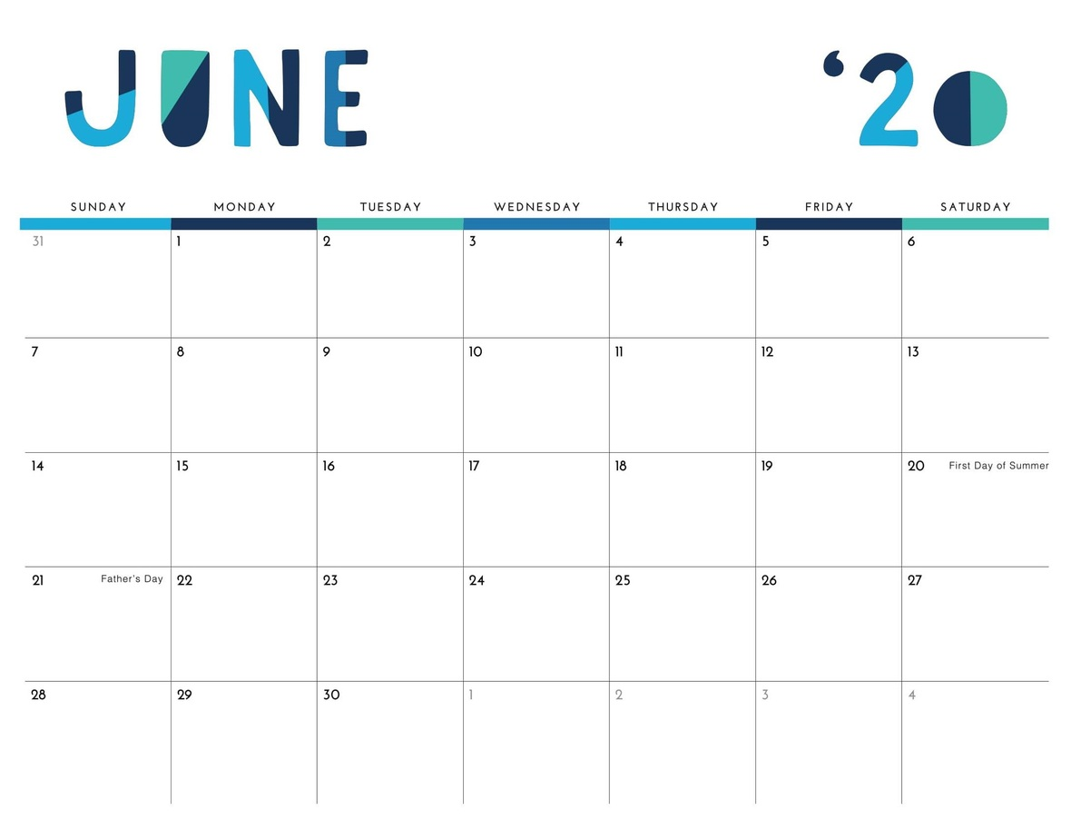 Cute-Printable-June-2020-Calendar