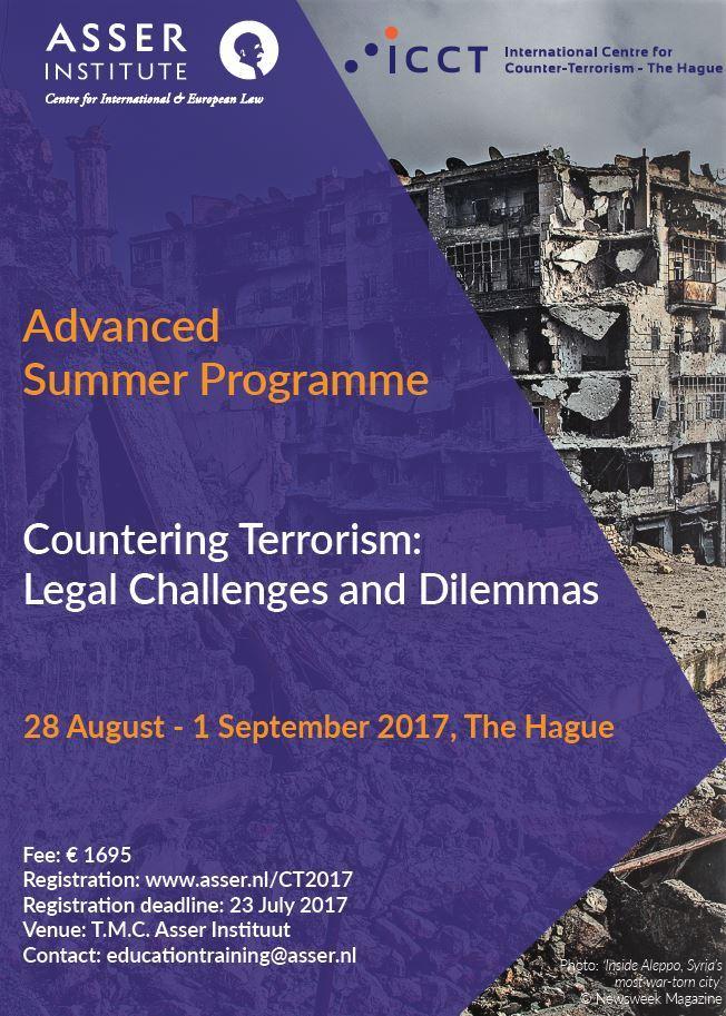 Visual twitter ICCT Summer Programme