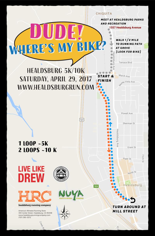 dude wheres my bike map