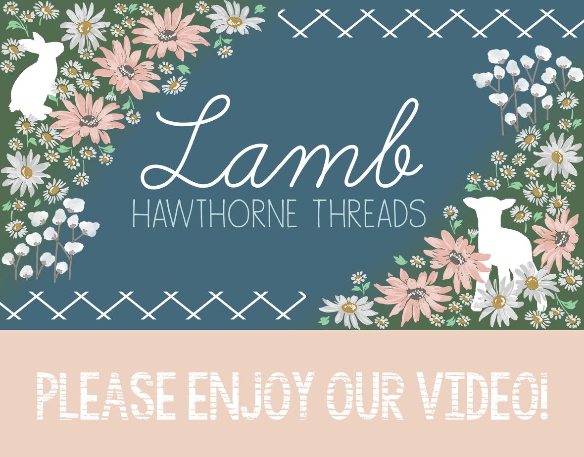 Lamb Fabric Video Logo