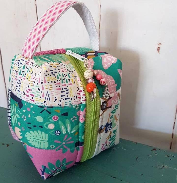 Pura Vida Box Tote from Little Moo Designs