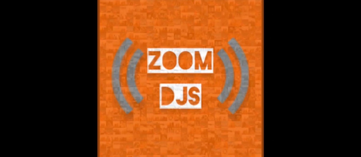 how to DJ on zoom zoomdjs.com logo