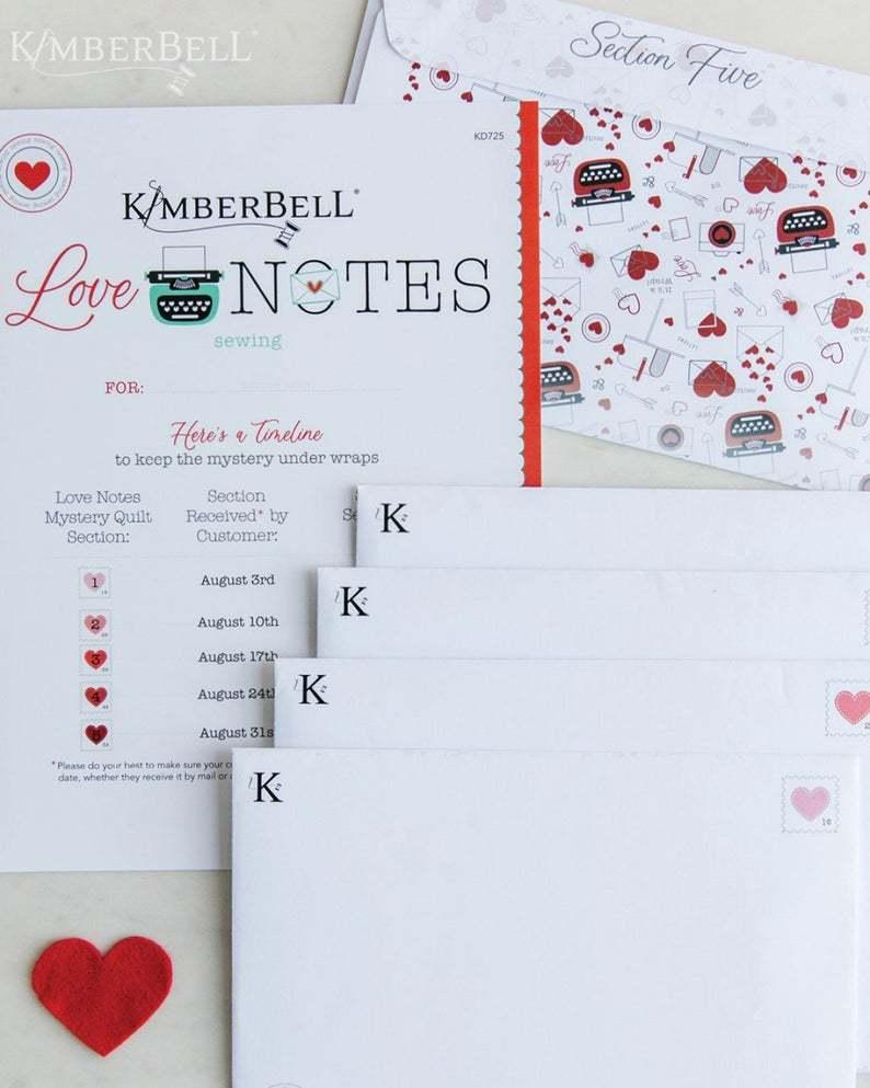 love notes envelopes