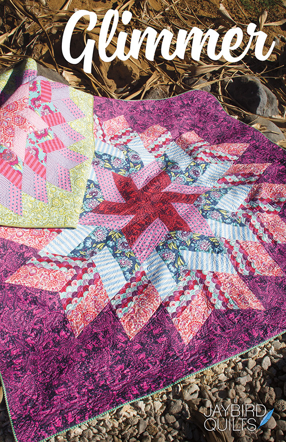 jaybird quilts  glimmer sewing pattern